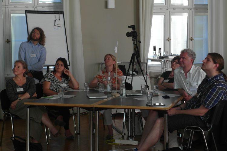 Publikum beim Vortrag des Muster-Workshop in München